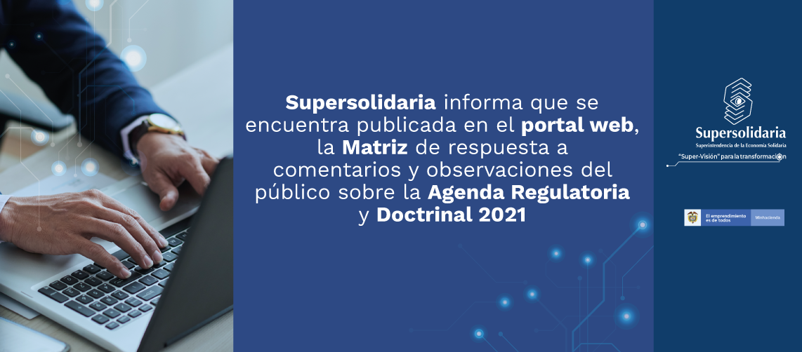 Matriz respuesta comentarios Agenda Regulatoria y Doctrinal 2021
